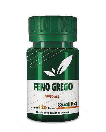 Feno Grego 1000mg (120 Cápsulas)