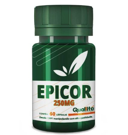 Epicor 250mg  (60 Cápsulas)