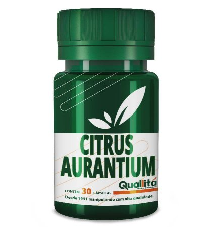 Citrus Aurantium 1600mg (30 Cápsulas)