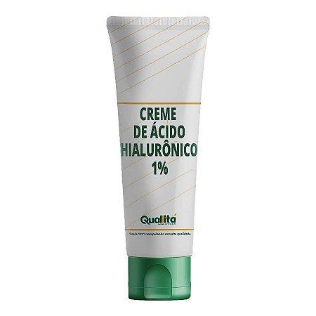 Creme de Ácido Hialurônico 1%- Pele Hidratada, Firme e Sedosa. (50g)