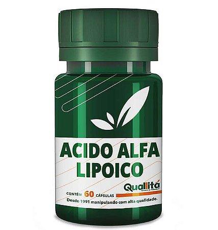 Acido Alfa Lipoico 100mg 60 Cápsulas