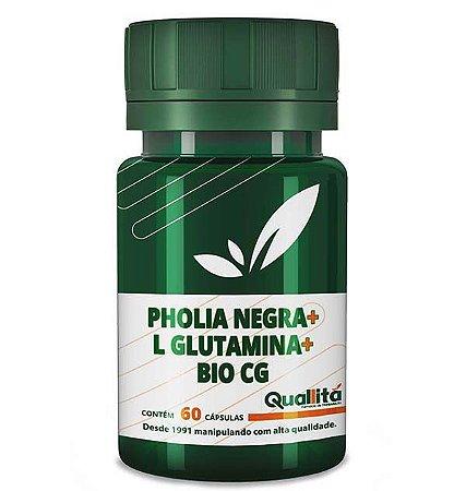 Pholia Negra 100mg. L Glutamina 250mg, Bio Cg 150mg (60 Cápsulas)