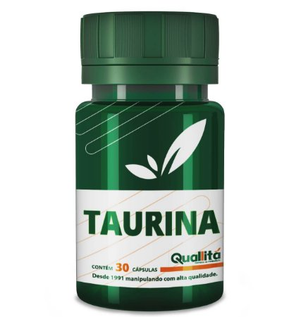 Taurina 500mg (30 Cápsulas)