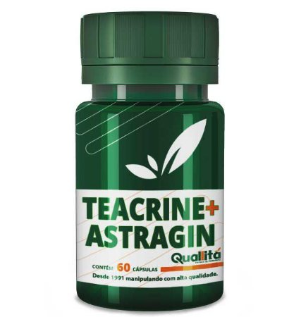 Teacrine 200mg + Astragin 50mg (60 Cápsulas)