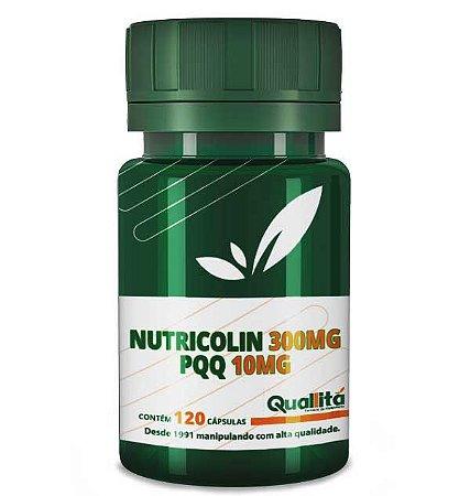 Nutricolin 300mg; PQQ 10mg (120 Cápsulas)
