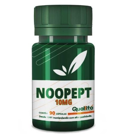Noopept 10mg - Funções neurais saudáveis (90 cápsulas)