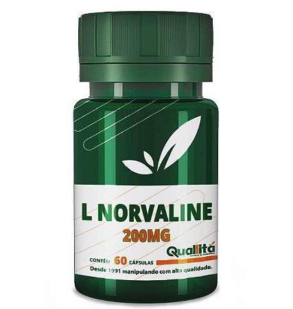 L-Norvaline 200mg (60 Cápsulas)