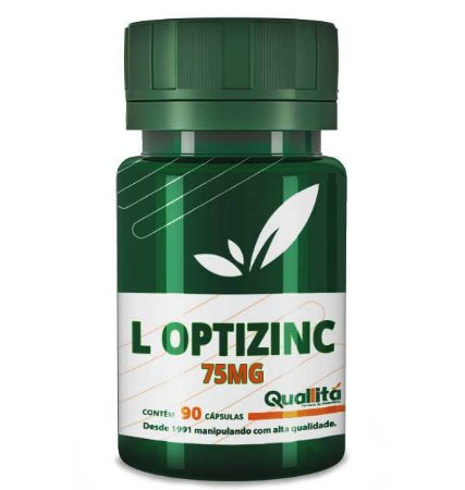 L Optizinc 75mg (90 Cápsulas)