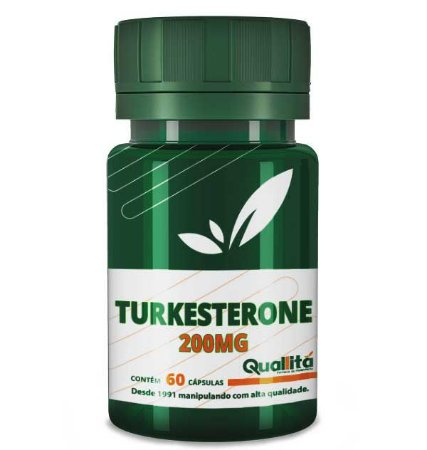 Turkesterone 200mg (60 Cápsulas)