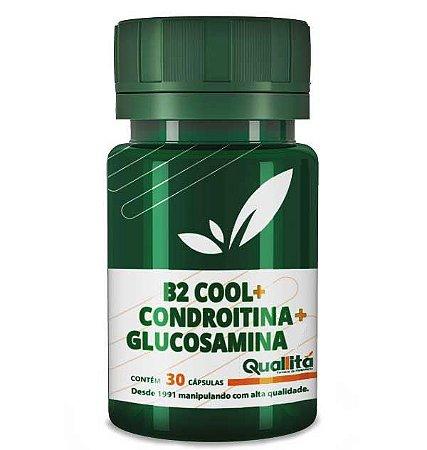 B2 Cool + Condroitina + Glucosamina - Articulações saudáveis (30 cápsulas)