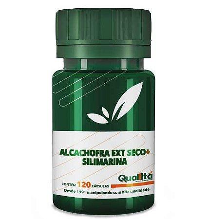 Silimarina 100Mg + Alcachofra (Ext Seco) 200Mg (120 Cápsulas)