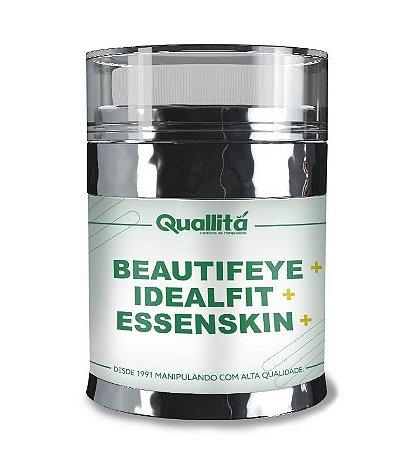 Beautifeye 3% + Ideal Fit 3% + Essenskin 2,5% + Base Acetinada ( 30G )