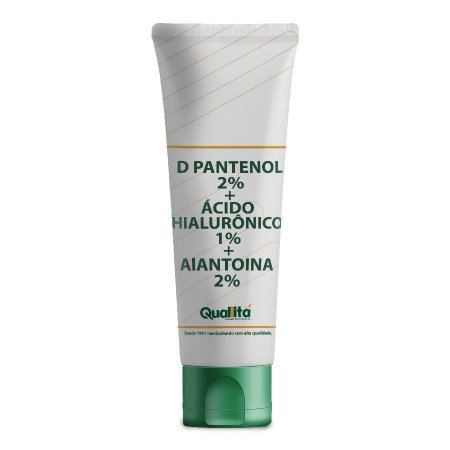 D Pantenol 2%; Ácido Hialurônico 1%, Alantoina 2%; Mentol 0,05%; Essência Mister 0,01%; Gel Base 50ml