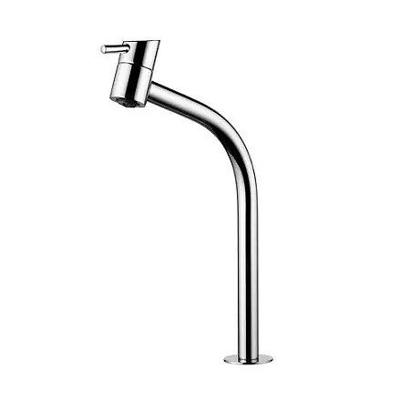 Torneira Banheiro Mesa Alta Lorenzetti Swan Metal Cromado