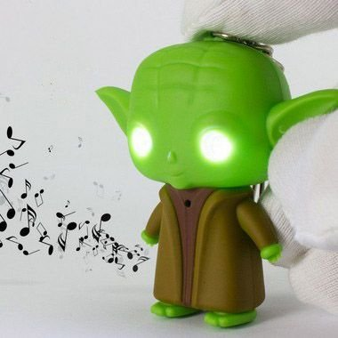 Chaveiro Luminoso Star Wars Yoda