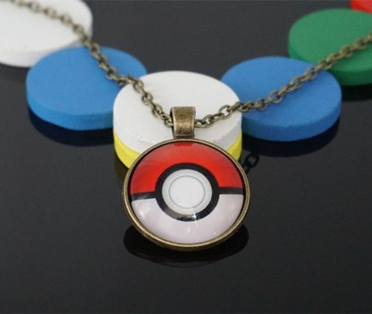 Colar Pokemon Pokebola
