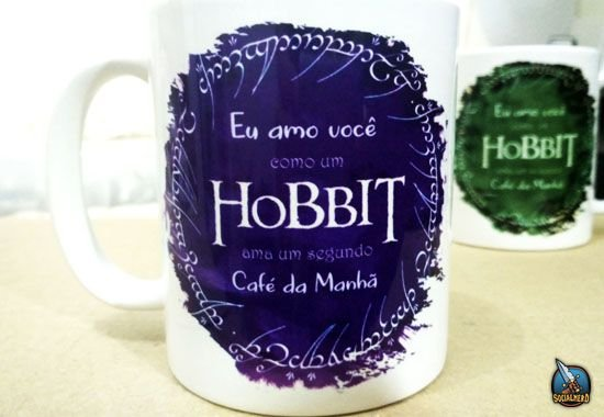 Caneca Hobbit Café da Manhã