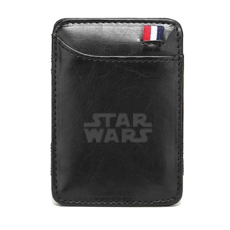 Carteira Clássica Porta Cartões Star Wars Star Trek