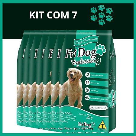 FriDog | Ração Vegetariana 2KG - Kit com 5
