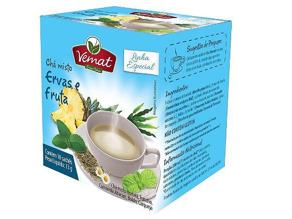 Chá ervas e frutas - 10 sachês