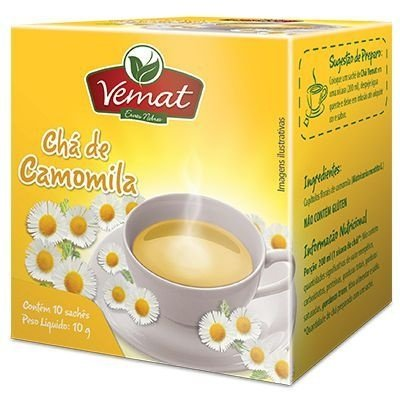 Chá de Camomila - 10 sachês