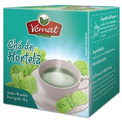 Chá de Hortelã - 10 sachês
