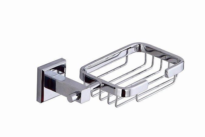 Saboneteira Cesto Metal(021) - Marca Chrome - Alto Padrão.