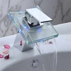 Torneira Led Banheiro Lavabo Sofia