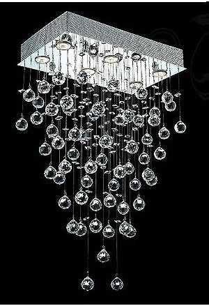 Lustre de Cristal Egípcio Autênticos Asfour 80cm Altura