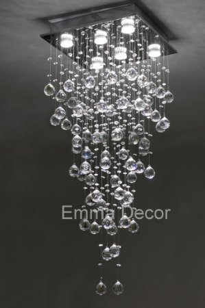 Lustre De Cristal Egipcio Autêntico Asfour 100 cm