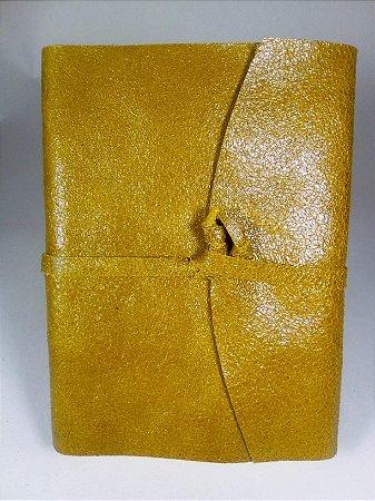 Diário de Viagem amarelo