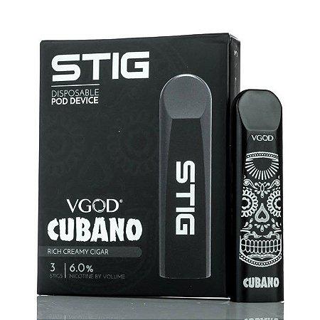 Pod System Descartável (Disposable Pod Device) Stig - Cubano - Vgod