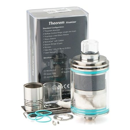Atomizador Theorem RTA c/ Notch Coil - Wismec