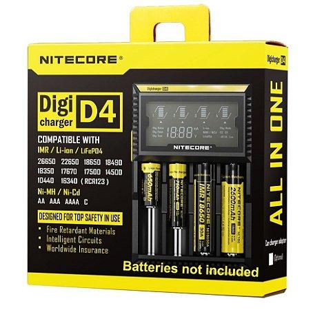 Carregador D4 - Nitecore®