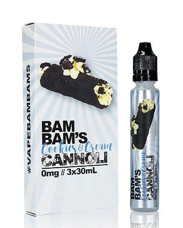 Liquido Cookies & Cream Cannoli - Bam Bam's Cannoli
