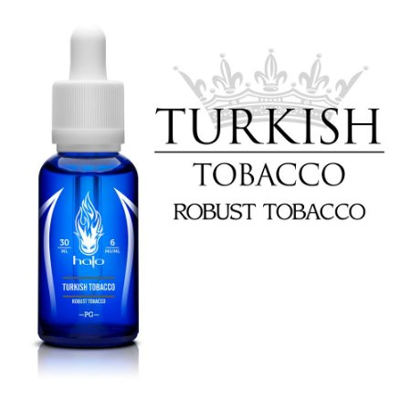 Líquido Turkish Tobacco - HALO Purity