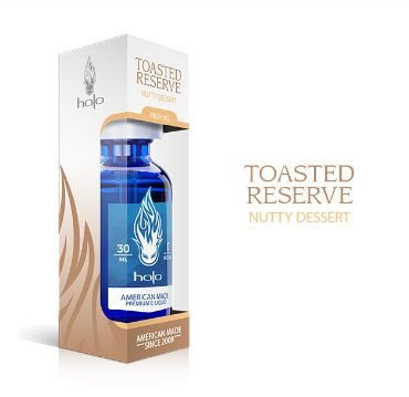 Líquido Toasted Reserve - HALO Purity