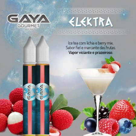 Liquido Elektra (Danoninho de Morango) | GAYA Gourmet