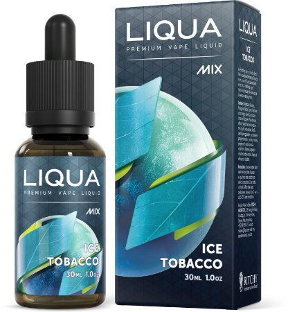 Líquido LIQUA Mix - Ice tobacco - Ritchy