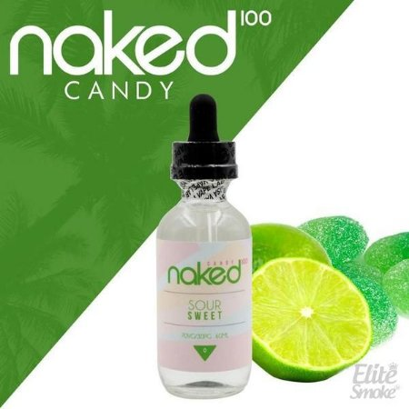 Líquido Green Lemon - Sour Sweet - FUSSION - Naked 100