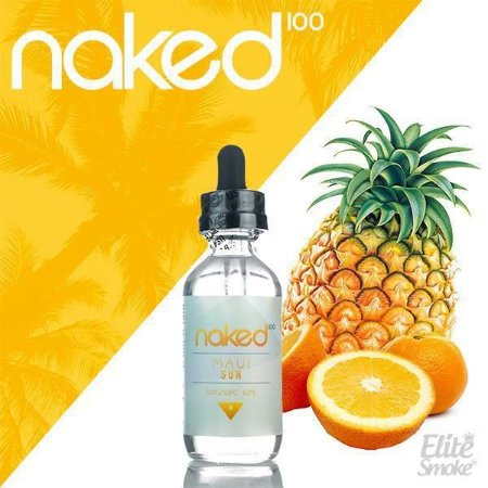 Líquido Maui Sun - FRUIT - Naked 100
