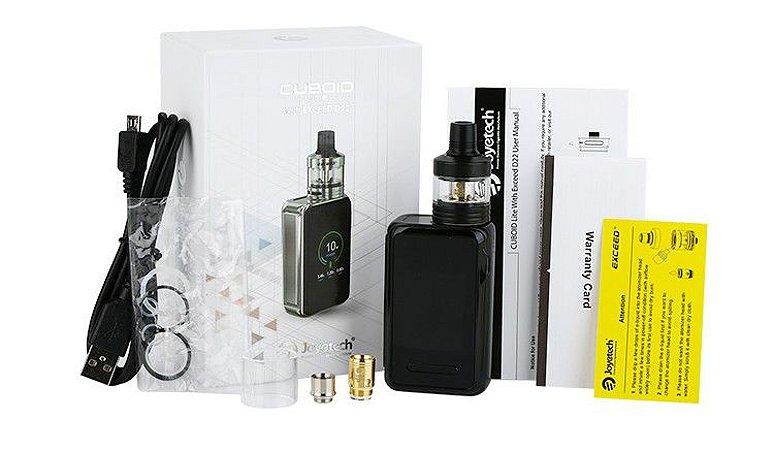 Kit CUBOID Lite D22 3000 mAh - c/ Atomizador Exceed - Joyetech®