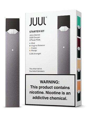 Kit JUUL - POD System - Starter Kit com 4 Pods (Original) - JUUL