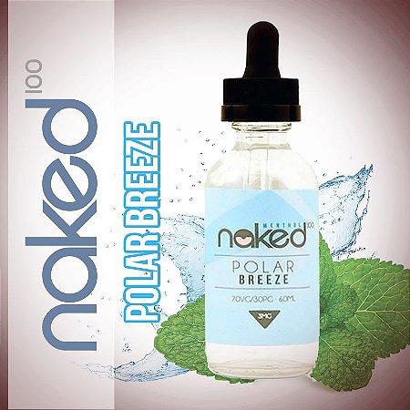 Líquido Polar Breeze - Menthol - Naked 100