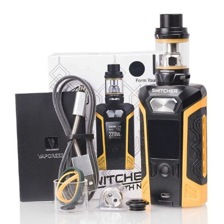Kit Switcher 220W c/ Atomizador NRG - Vaporesso