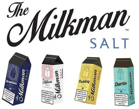 Líquido Salt Nicotine - The Milkman SaltNic