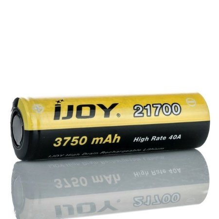 Bateria 21700 Li-ion 3750mAh High Drain 40A Flat Top - IJOY