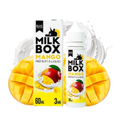 Líquido Mango - Milk Box - BLVK Unicorn