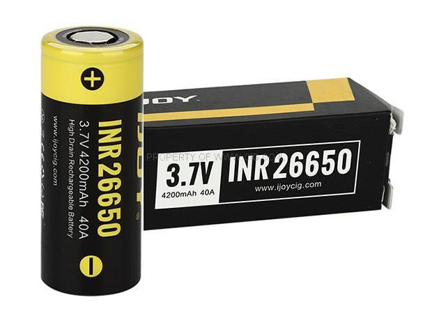 Bateria 26650 INR Li-ion 4200 mAh High-drain 40A - IJOY