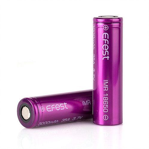 Bateria 18650 3000mAh 35A Flat Top High-Drain - Efest